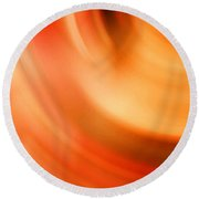 The #3 Colors Of Your Soul Round Beach Towel