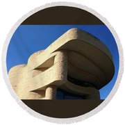 The American Indian Museum Round Beach Towel