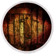 The Ancient Stones Round Beach Towel