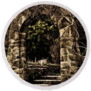 The Archway Round Beach Towel