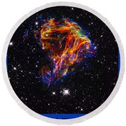 The Art Of The Universe 310 Round Beach Towel