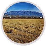The Bale - Sandia Mountains - Albuquerque Round Beach Towel