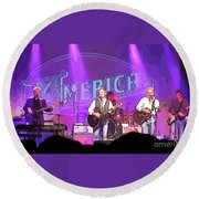 The Band America Round Beach Towel