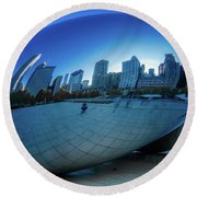 The Bean Round Beach Towel