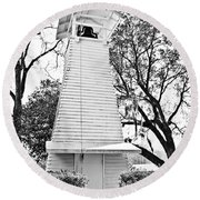 The Bell Tower Round Beach Towel