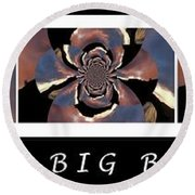 The Big Bang - Creation Of The Universe Round Beach Towel