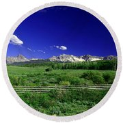 The Big Picture Round Beach Towel
