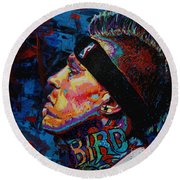 The Birdman Chris Andersen Round Beach Towel