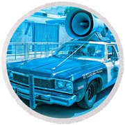 The Blues Brothers Round Beach Towel