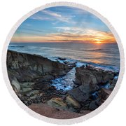 The Bowl Round Beach Towel