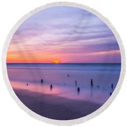 The Breach Round Beach Towel