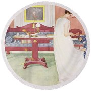 The Bridesmaid, Pub. In Lasst Licht Round Beach Towel
