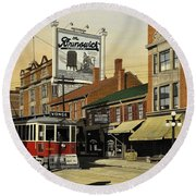 The Brunswick 1916 Round Beach Towel