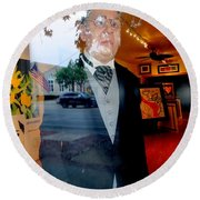 The Butler Round Beach Towel