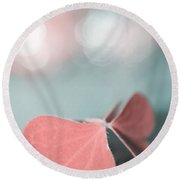 The Butterfly P02b Round Beach Towel