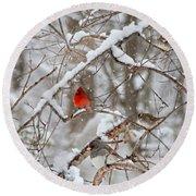 The Cardinal Rules Round Beach Towel