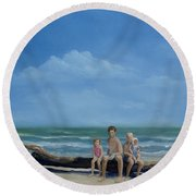 The Castaways Round Beach Towel