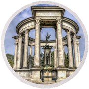 The Cenotaph Cardiff Round Beach Towel