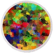 The Chatterers Round Beach Towel