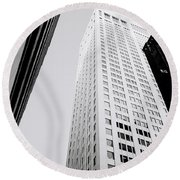 The Chippendale Building Round Beach Towel