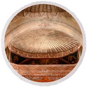 The Choir Loft Round Beach Towel