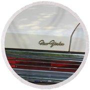 The Chrysler New Yorker  Round Beach Towel
