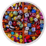 The Collection Round Beach Towel