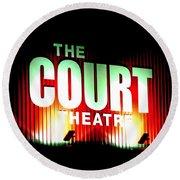 The Court Theatre Round Beach Towel