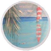 The Cove Round Beach Towel