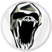 The Creature Round Beach Towel