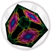 The Cube 9 Round Beach Towel