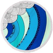 The Curl Round Beach Towel