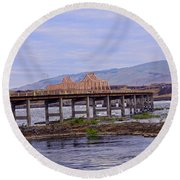 The Dalles 2013 Round Beach Towel
