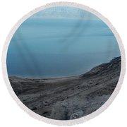 The Dead Sea - Looking At Jordan Round Beach Towel