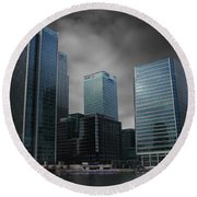 The Docklands Round Beach Towel