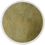 The Dog Round Beach Towel