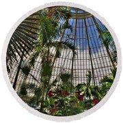 The Dome 002 Buffalo Botanical Gardens Series Round Beach Towel