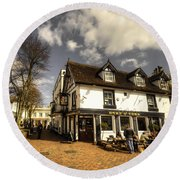 The Duke Of York  Round Beach Towel