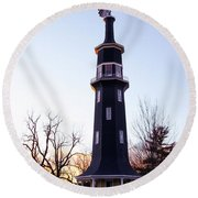 The Dwight Windmill Round Beach Towel