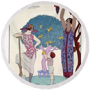 The Earth Round Beach Towel
