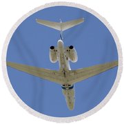 The Elusive Israeli Air Force G550 Aew Round Beach Towel