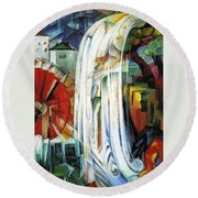 The Enchanted Mill Round Beach Towel