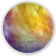 The Escape From Heaven Round Beach Towel