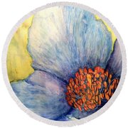 The Eye Popper Round Beach Towel