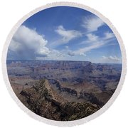 The Famous Grand Canyon Round Beach Towel