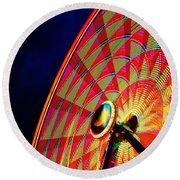 The Ferris Wheel 7/10/14 Round Beach Towel