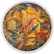 The Fishermen Village Round Beach Towel