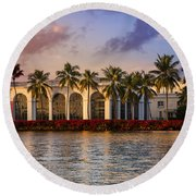 The Flagler Museum Round Beach Towel