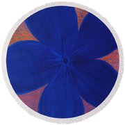 The Flower Round Beach Towel