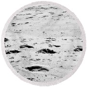 The Footprints At Wineglass Round Beach Towel